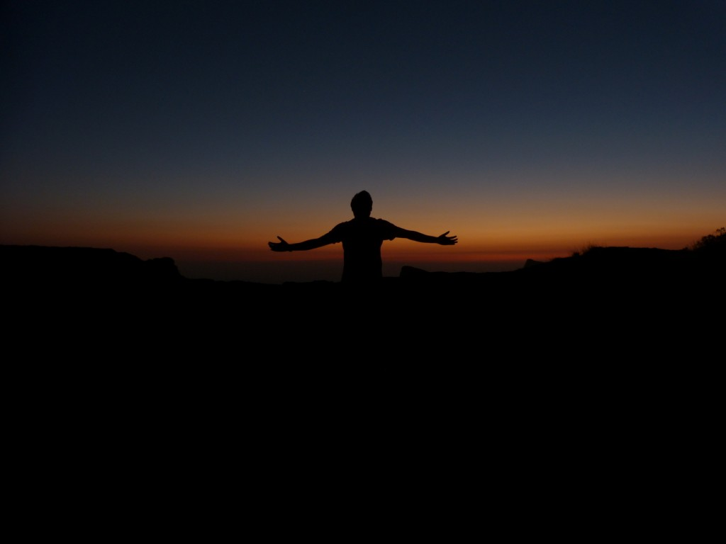 The best ever Sunset from Mighty Kokan Kada... A Paradise of Trekkers